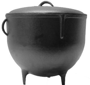 10444as Jambalaya Round Bottom Pot 4 Gallon