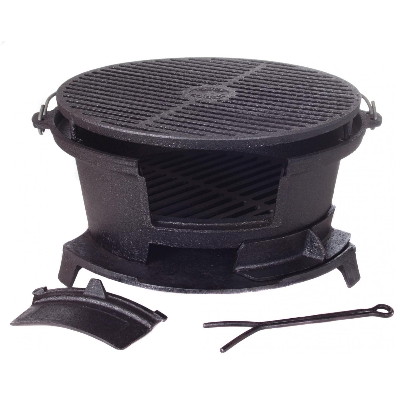 10447 hibachi grill 14 5 diameter cast iron cajun classic cookware 213 2nd street. Black Bedroom Furniture Sets. Home Design Ideas